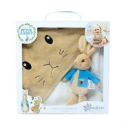 Set includes Soft Toy & Cuddle Robe Suitable from Birth Gift Boxed